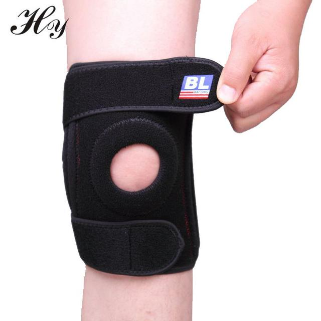 bed9cc88b8 Knee Support Sports Safety High-grade Spring Skid Knee Pads Outdoor Kneepad Support  Brace Protector Sleeve Patella Guard Posture