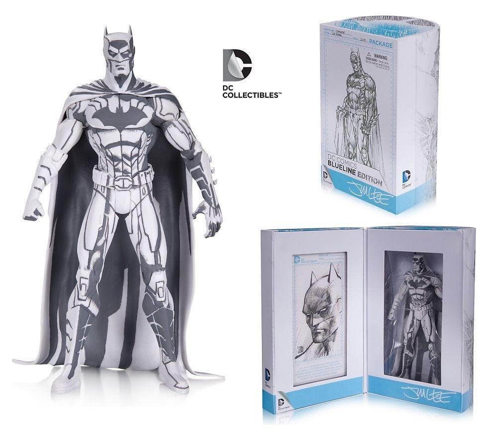 DC 2015 SDCC Batman Figure Blueline Edition Sketch Color DC Comics Hero Toys 16cm каталог blueline