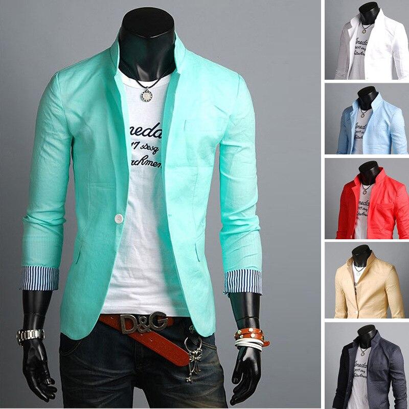 Online Shop Occident Fashion Cheap Teenagers Boy Blazer Men 2015 ...