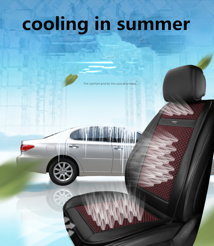 automotives supplies for nature wind cushion breathing car seat Electric cooling&massage car seat cover in summer small houses in nature