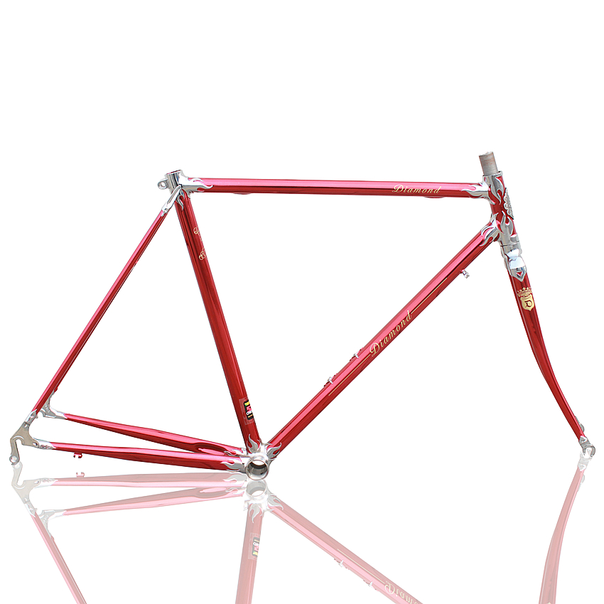 700C LUG FRAME Vintage Bicycle frame road bicycle   mountain bike  fixed gear bicycle Reynolds frame Customize frame цена и фото