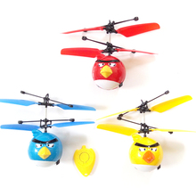 RC Helicopter Kids Boy Drone toys Helicoptero flying Birds toys Saucer Induction Mini flyer Baby RC