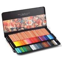 Oily Colors 100/72/48/36 Crayon Paint Pencil Set Professional Artist Graphite Pastel Drawing Sketch Tool Pen Fine Art Supply Kit