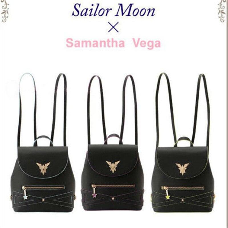 Sailor Moon 25th Anniversary Luna Tsukino Usagi Backpack Shoulder Bag Satchel PU