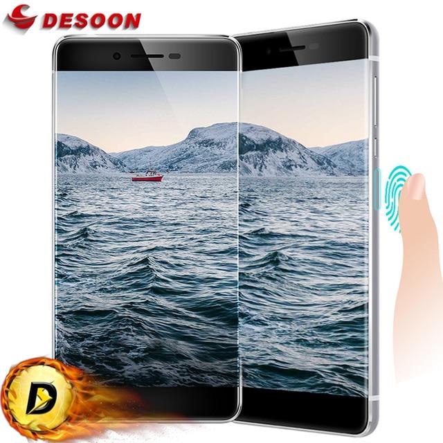 "Newest Borderless Ulefone Future Mobile Phone 5.5"" FHD 4GB RAM 32GB ROM 4G LTE Android 6.0 MTK6755 Octa Core Fingerprint ID"