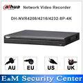 Оригинал Dahua Английская версия 4 К NVR NVR4208-8P-4K NVR4216-8P-4K NVR4232-8P-4K H265 H264 8POE портов