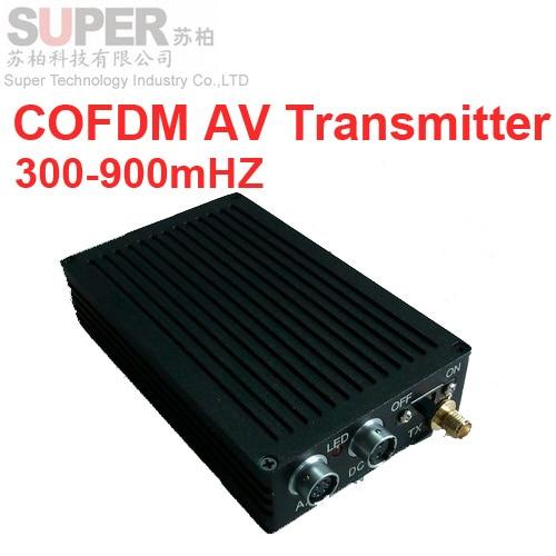 Drone Video Transmitter Digital COFDM Av Transceiver Portable Image Transmission 300 900mhz In From