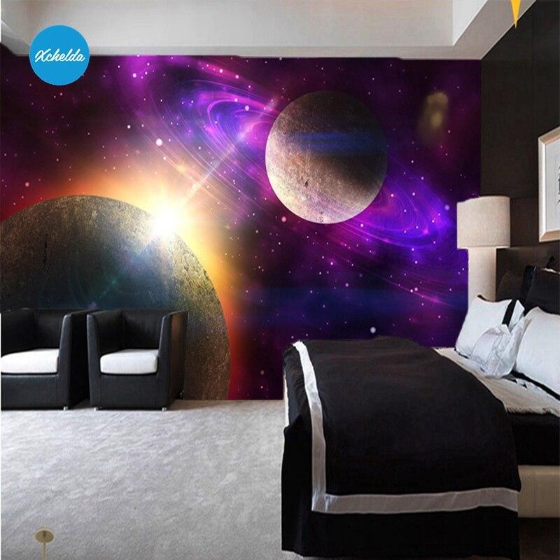 Xchelda Custom 3d Wallpaper Design Universe Photo Kitchen Bedroom