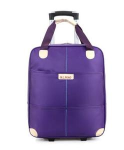 Image 4 - Новинка 2017, дорожная сумка на колесиках для женщин и мужчин, унисекс, сумка для багажа на колесах, дорожная сумка из ткани Оксфорд, дорожная сумка на колесах