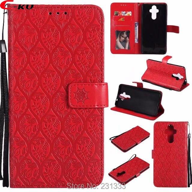 C-ku Strap Flower Wallet Leather Pouch Case For LG V20 V30 V10 Q6 G6 MINI Q8 V20 MINI Lavender TPU Purse Stand ID Card Skin 1pcs