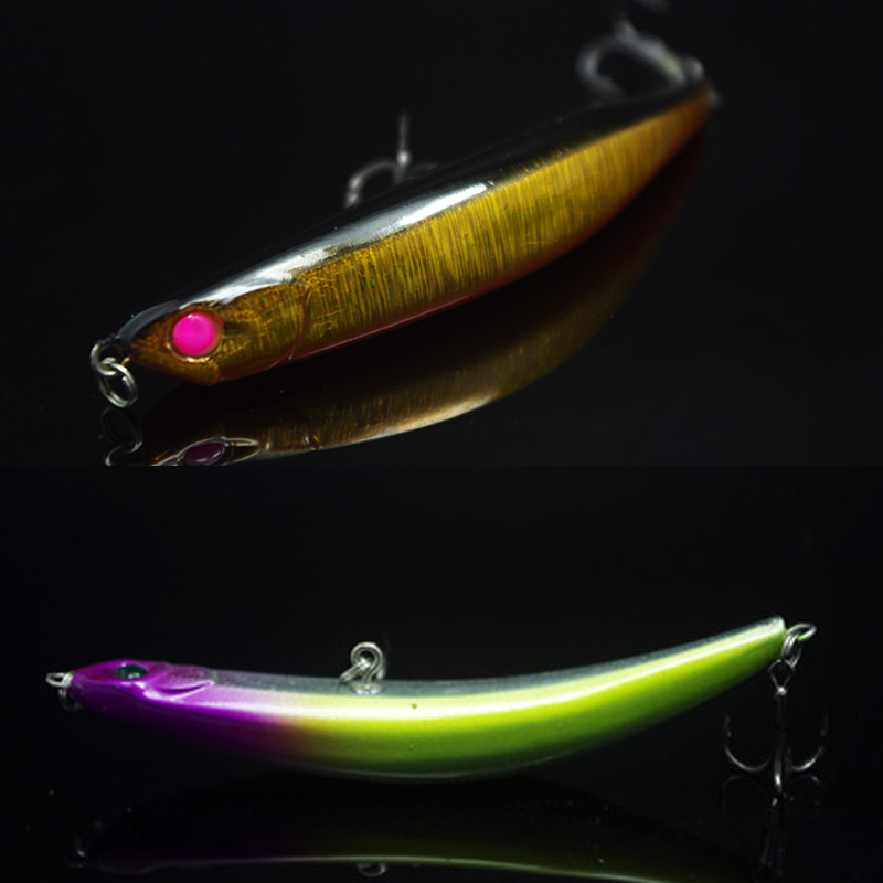 New Arrival Dying Fish 9cm/11cm Pencil Lure Fishing Bait Topwater Hard Baits Bass Attack Lures 1 Piece Sale