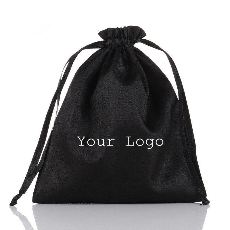 Satin Bag Printed Logo Packaging Gift