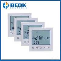 4 pièces TDS21-EP grand écran tactile LCD salle sous-sol Thermostat intelligent régulateur de température thermorégulateur