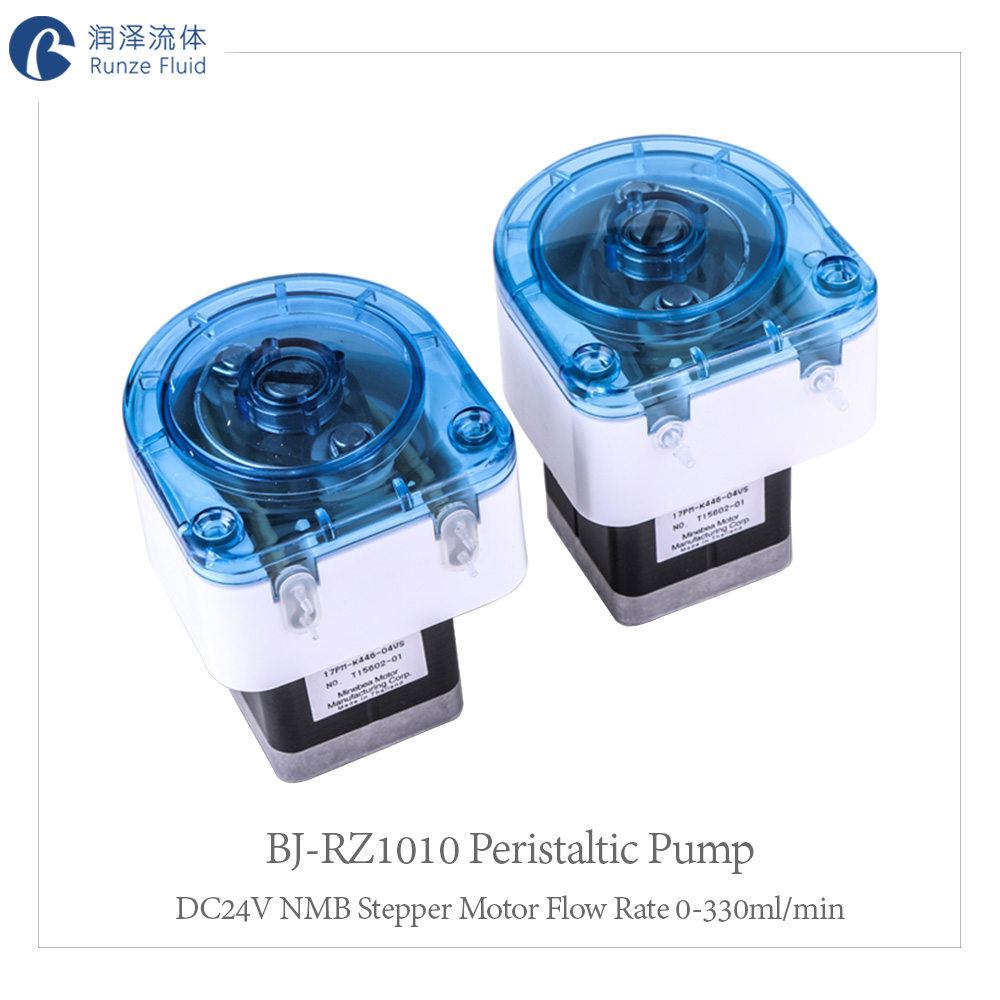 Replaceable Tubing Mini Peristaltic Pump PLC Control Small Flow Rate