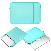 Green Laptop Notebook Case Sleeve Bag Clutch Wallet Computer Pocket Pouch Cover For 11 12 13