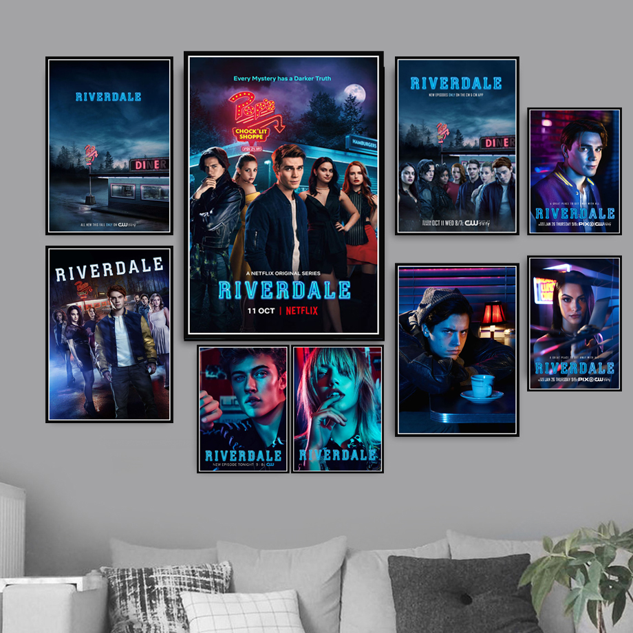 Riverdale Season 18 Hot TV Series Show Poster Wall Art Picture Posters and  Prints Canvas Painting for Room Home Decor
