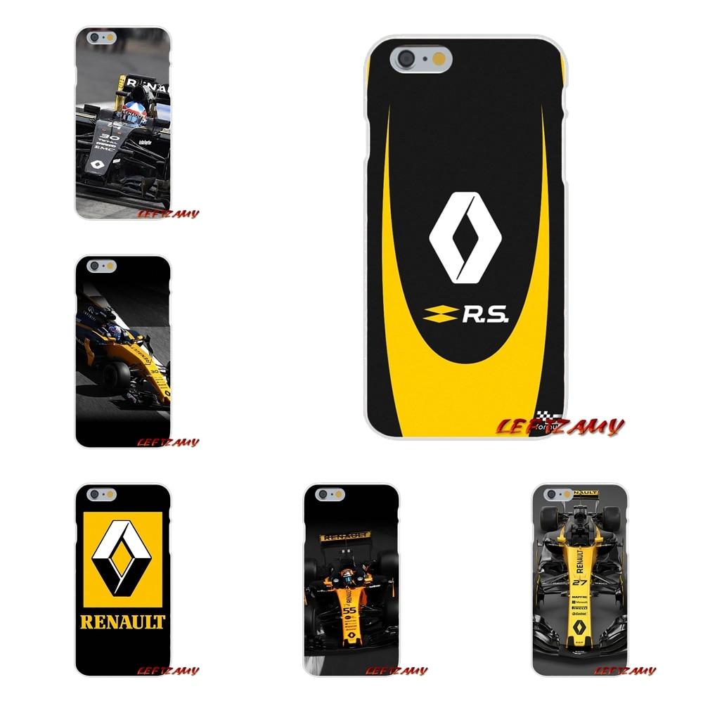Renault rs f1 Тонкий силиконовый чехол для телефона Motorola Moto G LG Spirit G2 G3 мини G4 G5 K4 K7 k8 K10 V10 V20 V30 ...