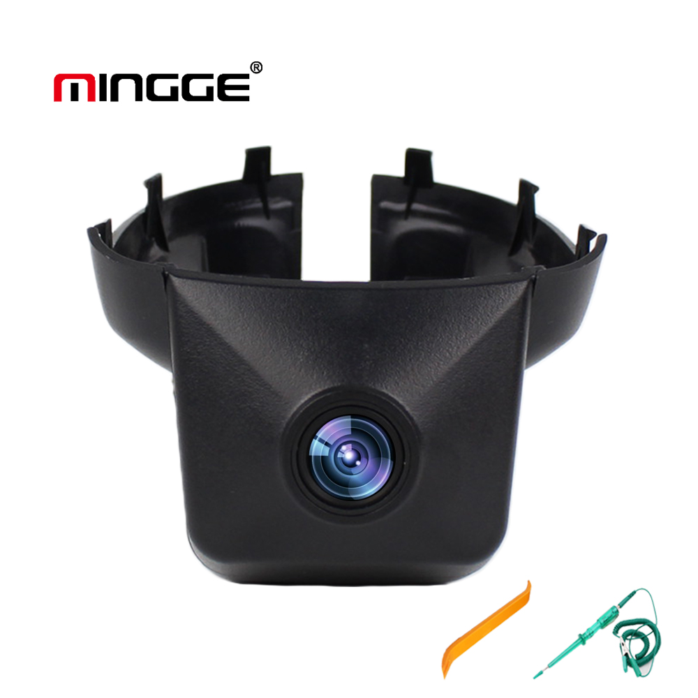 MINGGE Car Camera for VW Volkswagen Magotan Dash Cam 1080P HD Driving Recorder with WIFI G-Sensor WDR Loop Recording