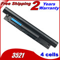 JIGU G019Y MR90Y Laptop Battery 3449 3549 2521 For Dell 6KP1N FW1MN for Inspiron 15R (5521) 17 3721 for Vostro 14 15 3000 2421