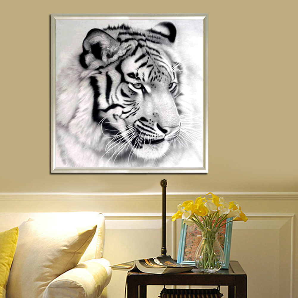 New diy 5D Full Diamond Kits Religious Icons Mosaics Embroidery Arts And Crafts Cross-Stitch Tiger Diamond Painting