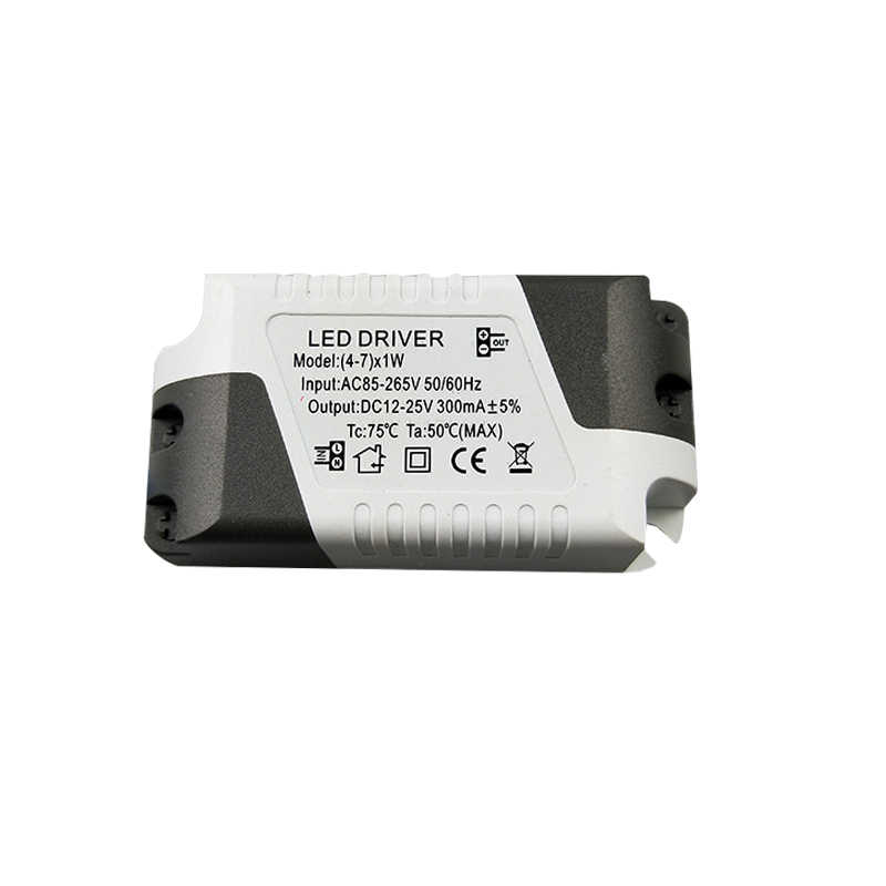 3 W-36 W LED נהג 85-265V 300mA אור שנאי זרם קבוע אספקת חשמל מתאם עבור מנורות Led רצועת תאורה