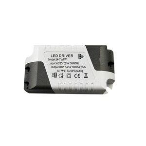 Image 3 - Adaptateur dalimentation à courant Constant, pilote de LED 3 W 36 W 85 265V 300mA, transformateur de lumière, adaptateur dalimentation Constant pour léclairage de la bande
