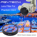 PGY Фильтры Объектива MCUV для DJI phantom 4 phantom 3 Карданный аксессуары Камеры Ультрафиолетовый Фильтр, БПЛА Quadcopter drone частей