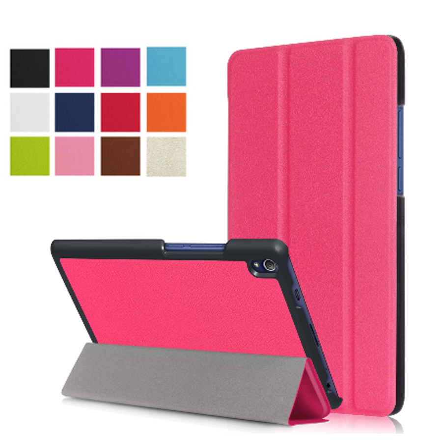 PU Leather Case Stand Cover for Lenovo Tab 3 Tab3 8 Plus P8 TB-8703 TB-8703F TB-8703X TB-8703N 8 inch Case+Film+Stylus Pen