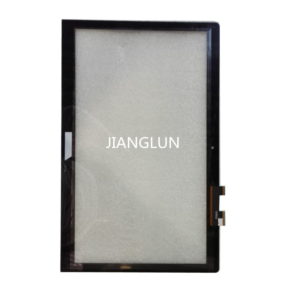 JIANGLUN FP-TPAY15611A-01X Touch Screen Digitizer For Asus TP550 TP500L Q502LA 15.6 with frame 15 6 for asus q551l q502l laptop touch screen glass replacement digitizer fp tpay15611a 01x