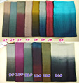 Gradient High Graded  Women Scarves Fashion 2015 Female Flora Cotton Voile Shawl Scarf 180*90cm Mix Colors Free Shipping
