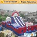 Inflável Biggors Comercial PVC Inflável Obastcle Corrediça Ao Ar Livre Grande Parque de Diversão para As Crianças