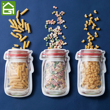 BPA Free Zip Seal Reusable Snack and font b Lunch b font font b Bag b
