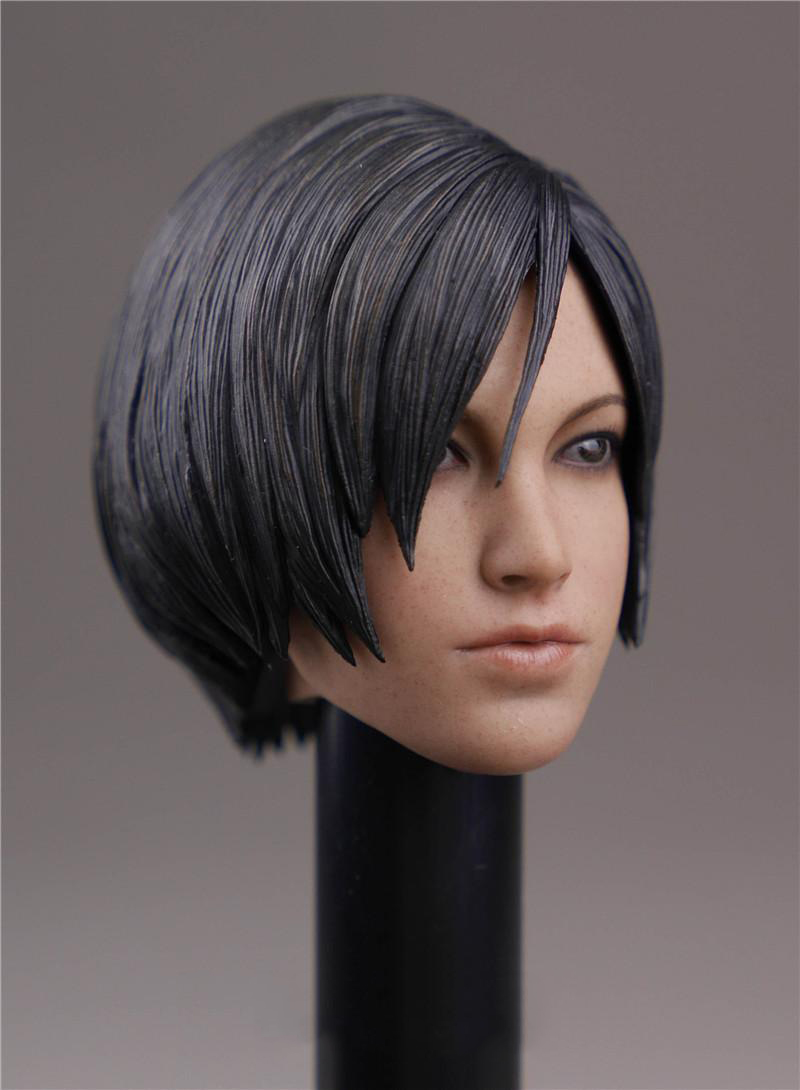 1 6 Ada Wong Head Sculpt with Short Hair For 12 quot Woman Figure Body in Action amp Toy Figures from Toys amp Hobbies