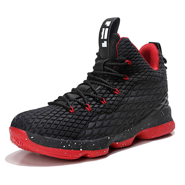 info for 9f7a1 4229e Man High-top Jordan Basketball Shoes Men s Cushioning Light Basketball  Sneakers Anti-skid Breathable Outdoor Sports Jordan Shoes