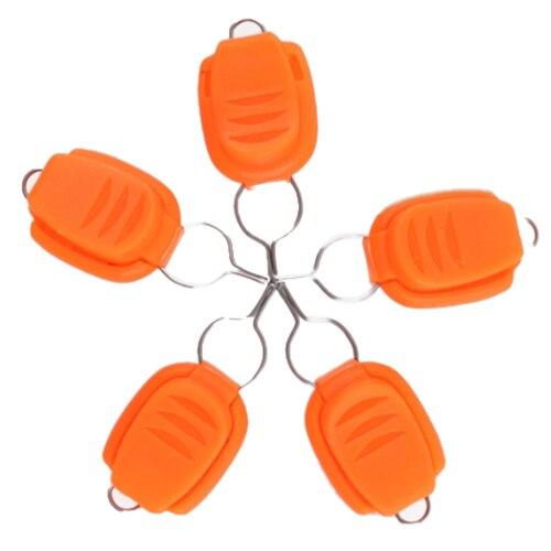 ILURE 5 шт./компл. ABS Карта линии устройства барабаны капли воды колеса Выделенные карты устройства для рыбалки аксессуары Цвет: orange