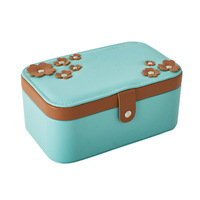 New Design Jewelry Boxes And Packaging Pu Leather Ring Stud Earrings Collection Creative Jewelry Display Jewellery