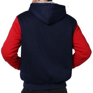Image 5 - Tamanho grande jaqueta masculina tamanho grande 7xl 8xl 9xl 10xl com capuz outono e inverno manga longa zíper espessamento velo quente preto gra