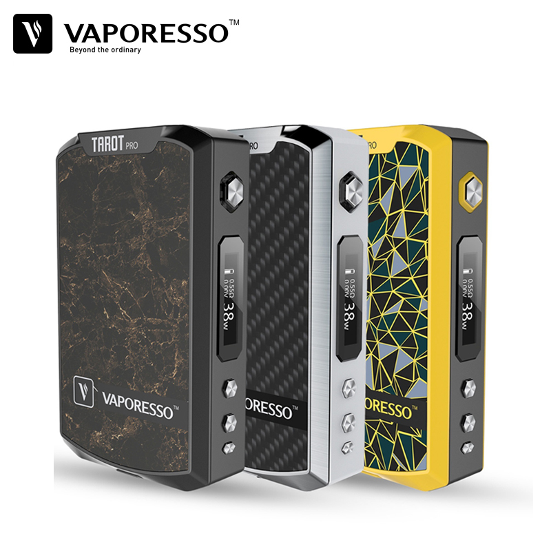 Original Vaporesso Tarot Pro 160W Box Mod Electronic Cigarette Vape Mod Vaporesso 510 Thread Compatible with 18650 Battery