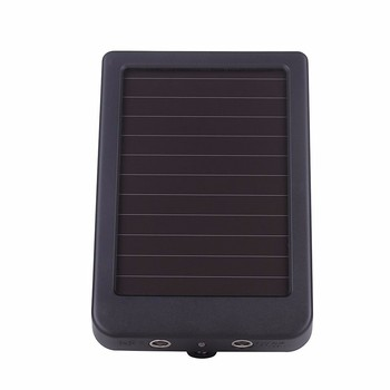 External Solar Powered Panel Charger  Power Supply  for Suntek Hunting Camera HC300M HC350M HC550M HC550G HC700G 3