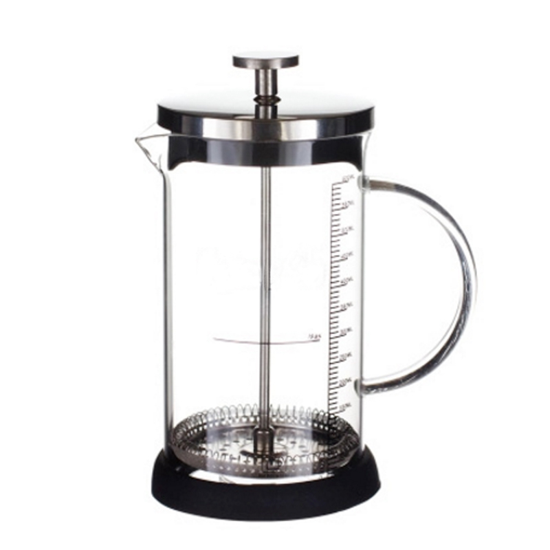 Coffee Maker French Hand Press 350ML 600ML Cafeteira Espresso Glass Stainless Steel Coffee Machine Filter Coffee Pot Percolator (1)