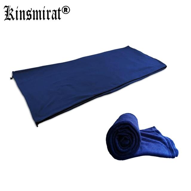 Теплый спальный мешок подводка штамп-тип Fuzz открытый тент спальные мешки ланч-брейк флис материал