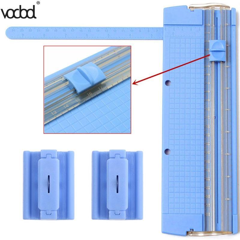 Portable Light Office Kit A4 Precision Paper Card Art Trimmer Photo Cutter Cutting Mat Blades Home Cutting Tool School Supplies