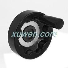1 шт. фрезерный станок заднего гофрированного ручного колеса 12 мм диаметр Вращающаяся ручка черный для