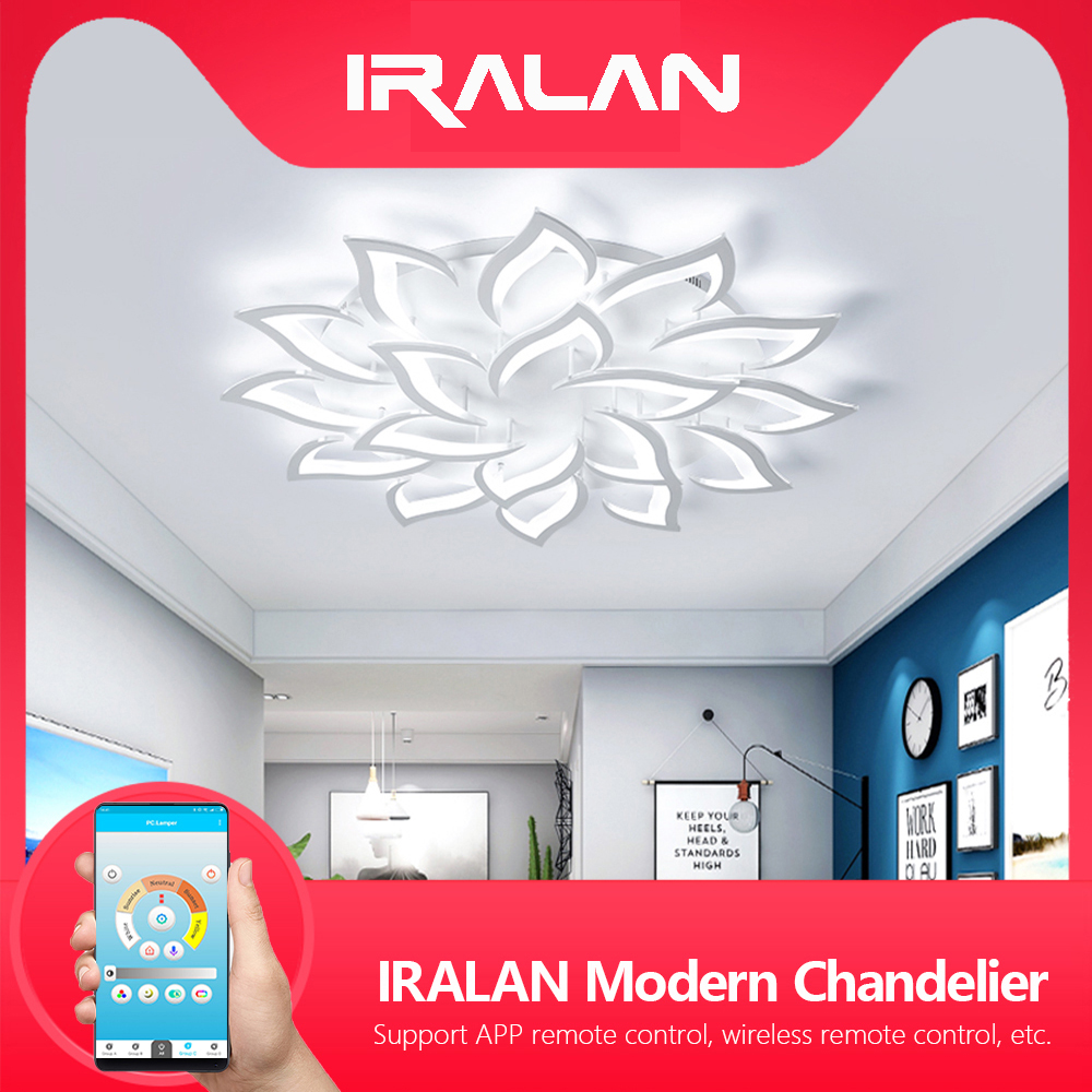 New led Chandelier For Living Room Bedroom Home chandelier by sala Modern decor Led Ceiling Chandelier