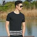 Pioneer camp.2017 nueva moda verano hombre t-shirt de manga corta negro del o-cuello camiseta de algodón marca clothing casual 622053