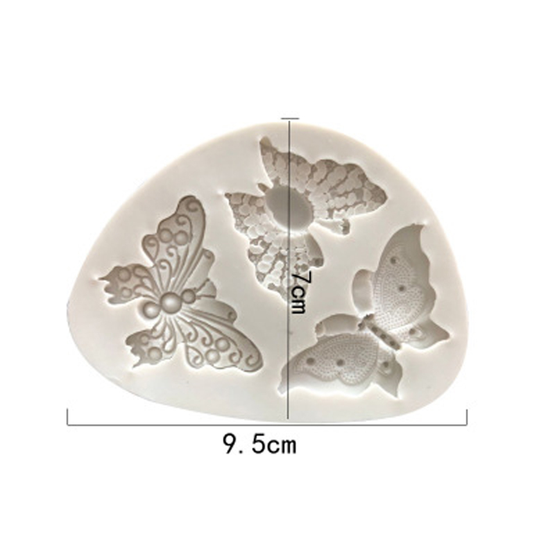 Image 3 - Butterfly Shaped Fondant Silicone Cake Mold Soap Mould Bakeware  Sugar Cookie Jelly Pudding Decor Baking Cooking Tools-in Cake Molds from Home & Garden