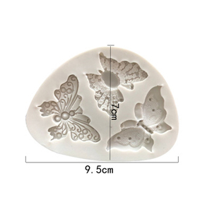 Image 3 - Butterfly Shaped Fondant Silicone Cake Mold Soap Mould Bakeware  Sugar Cookie Jelly Pudding Decor Baking Cooking Tools