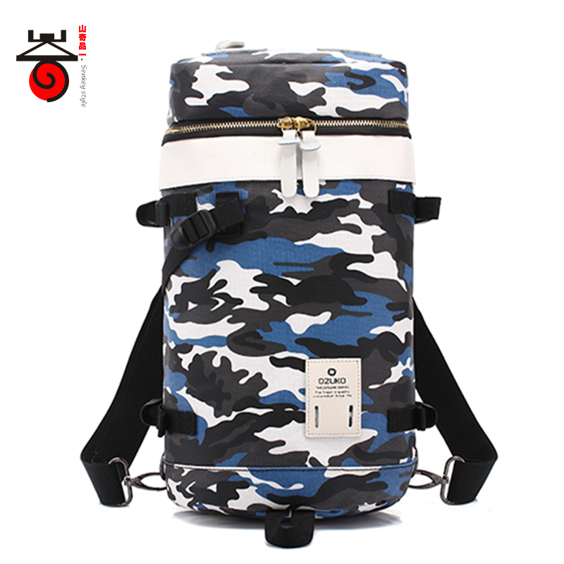 Senkey style 2018 New Men Backpacks Fashion Casual Multifunctional rucksacks Youth Men Women Camouflage Travel Laptop Backpacks