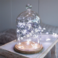 3.3M 30LED Star Copper Wire String Lights LED Fairy Lights Christmas Wedding decoration Lights Battery Operate twinkle lights