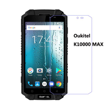 2PCS Screen Protector  For oukitel k10000 max smartphone IP68   phone Tempered Glass SmartPhone Front Film Protective Cover [hk stock]original tempered glass screen protector ultra thin premium tranparent screen glass film for oukitel k10000 smartphone